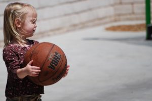 Instructional Basketball for First- and Second-Graders